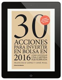 30 acciones para invertir en bolsa en 2016