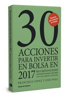 30 acciones para invertir en bolsa en 2017